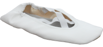 White gymnastic shoes